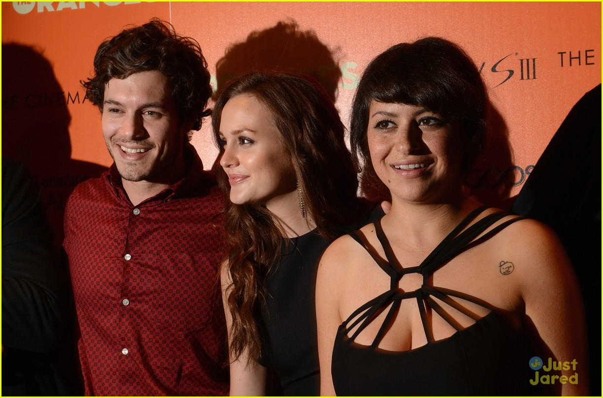 leighton meester pregnant expecting baby with adam brody 08