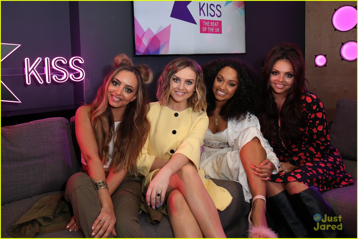 Little Mix Stop By KISS FM After Dropping New Single 'Black
