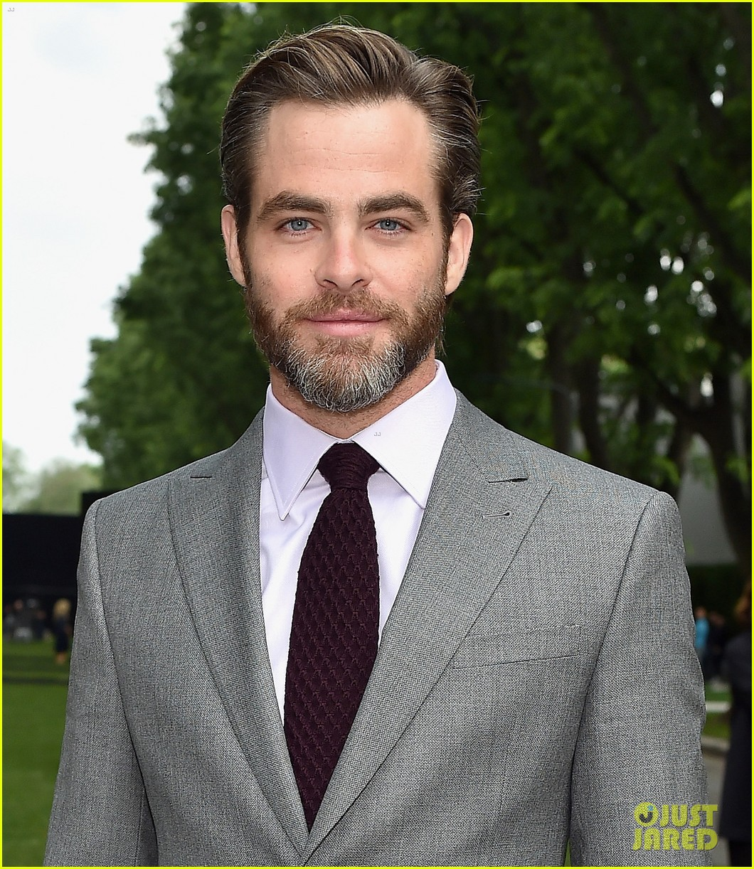 chris pine brings his good looks to italy for giorgio armani 01