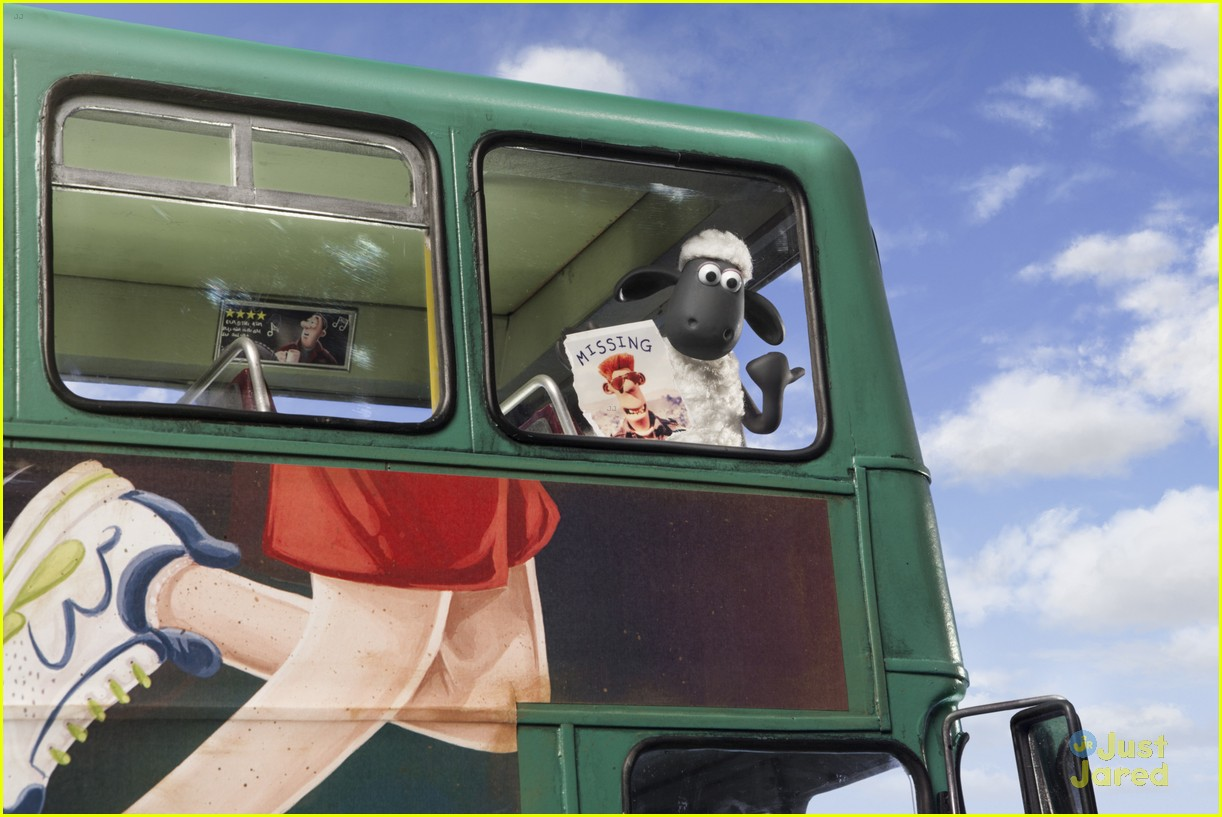 Shaun The Sheep Chases His Owner To The Big City In New