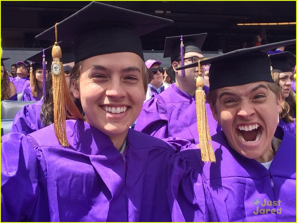 dylan cole sprouse graduate nyu 02
