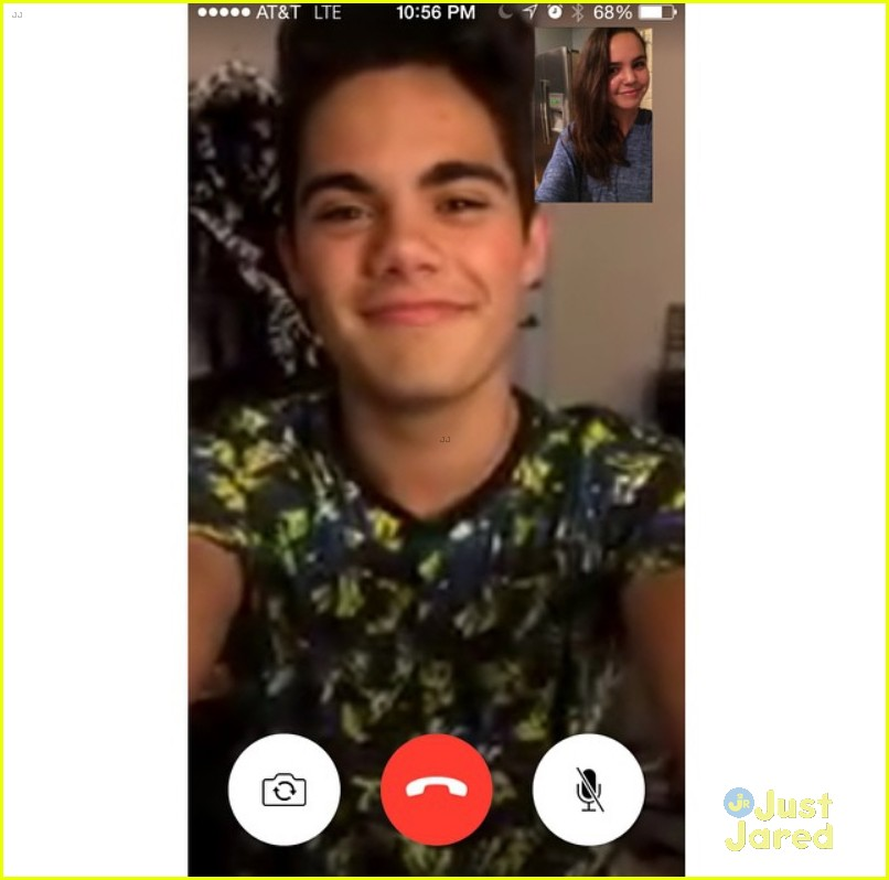 bailee madison emery kelly late night facetime 03