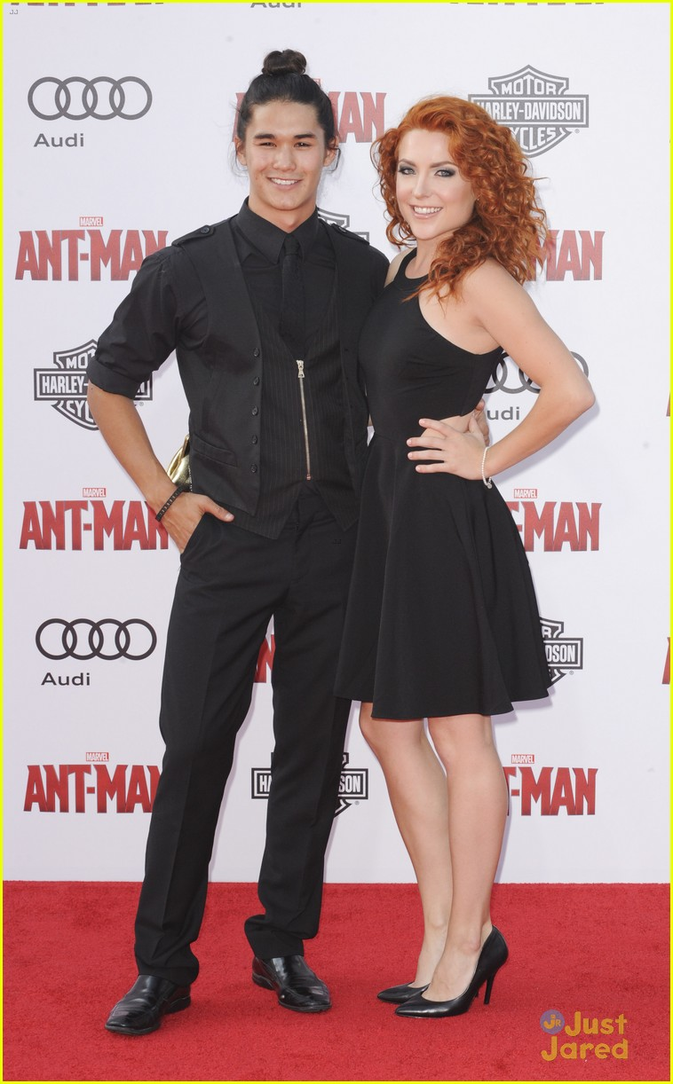 Derek Theler & Ty Simpkins Hit Up the 'Ant-Man' Premiere in
