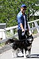 garrett clayton dog attracts fans tb2 dance rehearsal 04