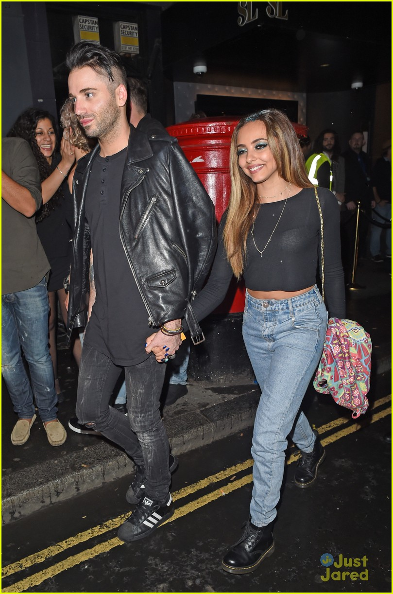 jade thirlwall holds hands aaron carlo 10