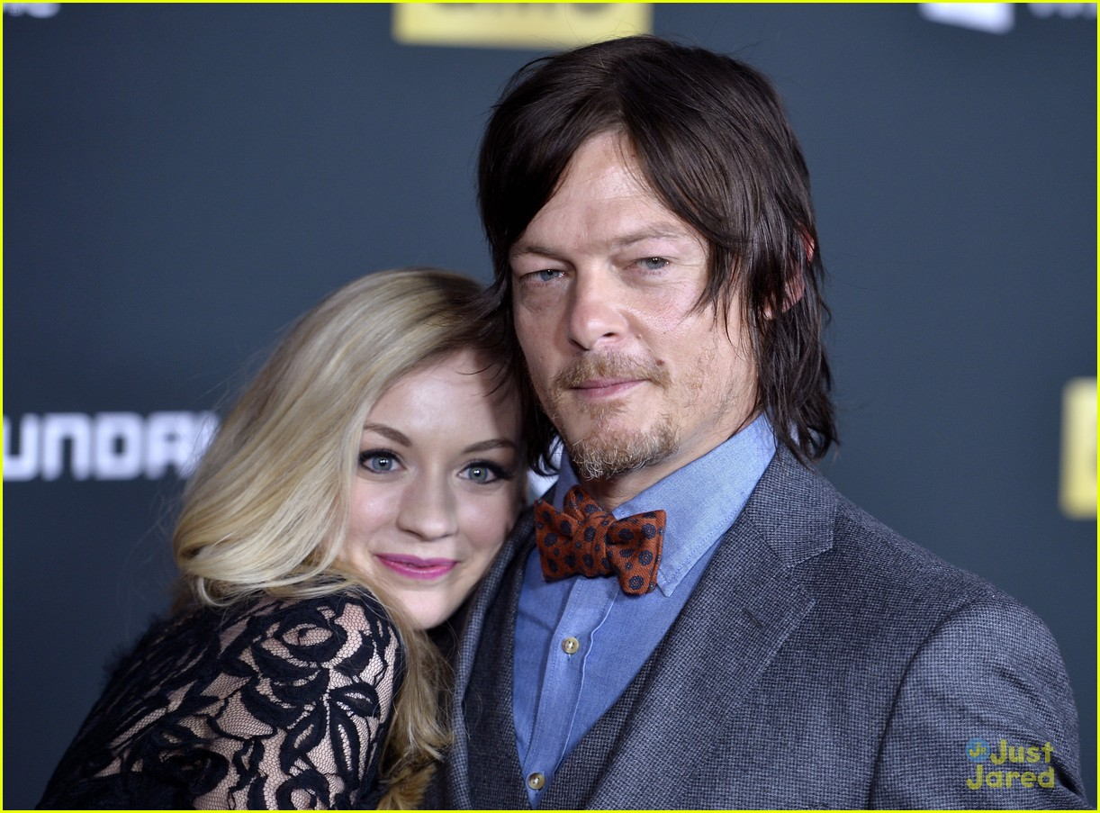 norman reedus emily kinney are reportedly dating 06