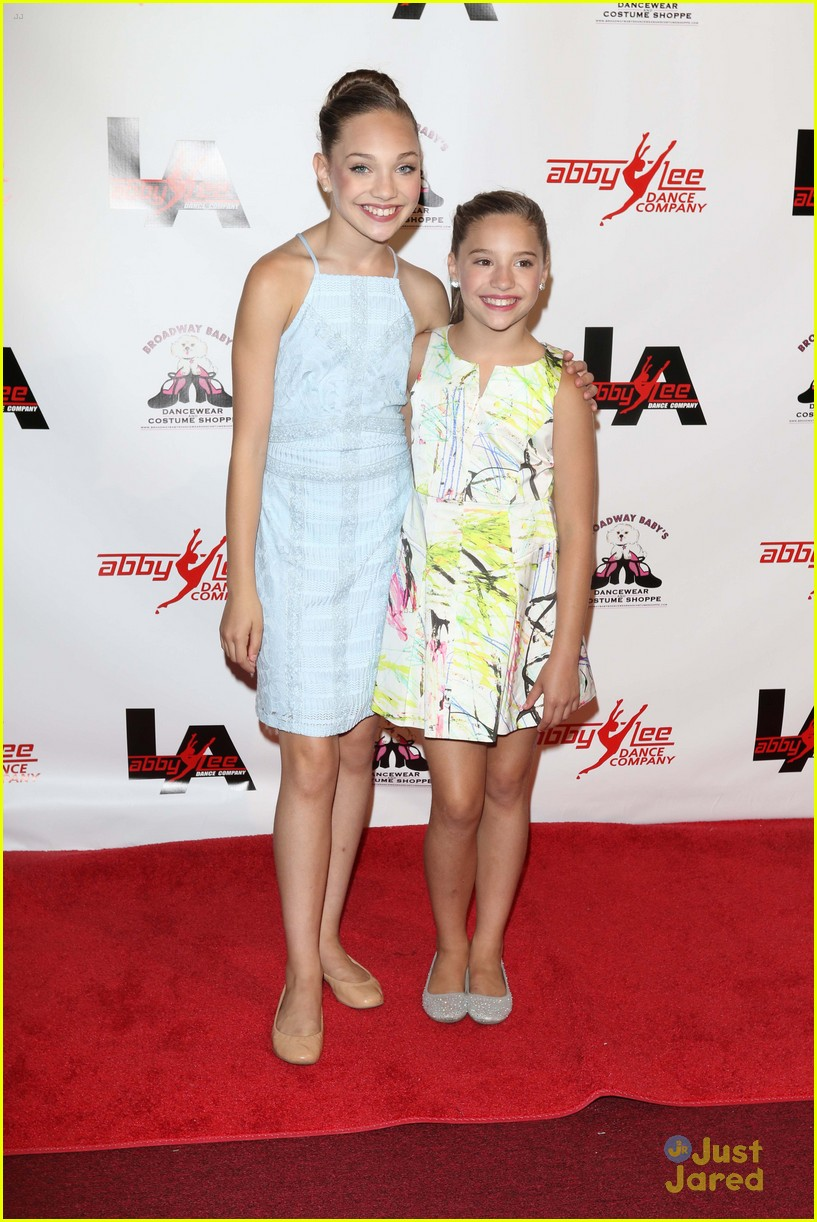 Maddie Ziegler Dance Moms Cast Celebrates Grand Opening Of Abby
