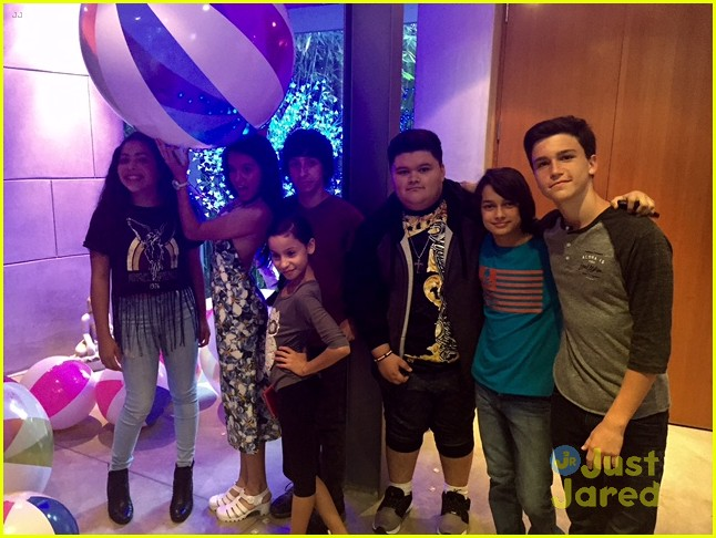 Rio Mangini Hosts Fun Viewing Party For Nickelodeon S One