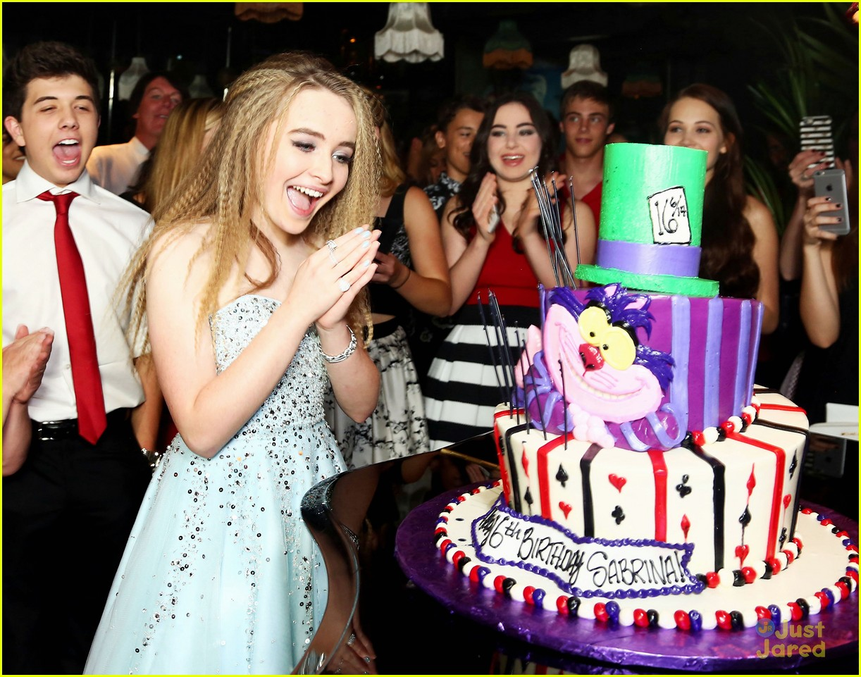 Sabrina Carpenter Sweet 16 Birthday Party 07