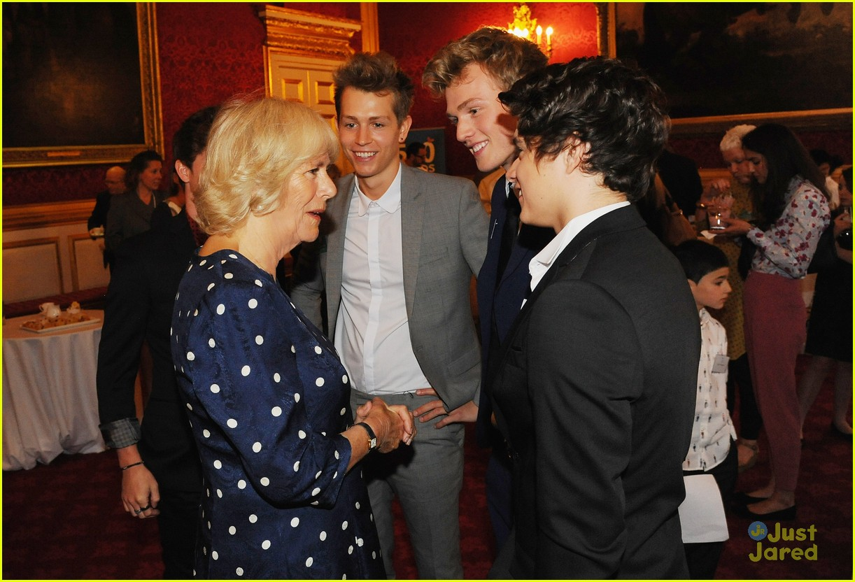 The vamps meet the duchess of cornwall at bbc2s 500 words the vamps eleanor tomlinson 500 words competition 05 m4hsunfo