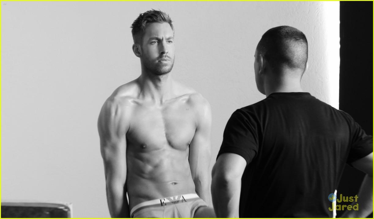 Calvin Harris Shirtless Calvin Harris' New Und...
