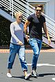 claire holt male friend lunch date after engagement 13