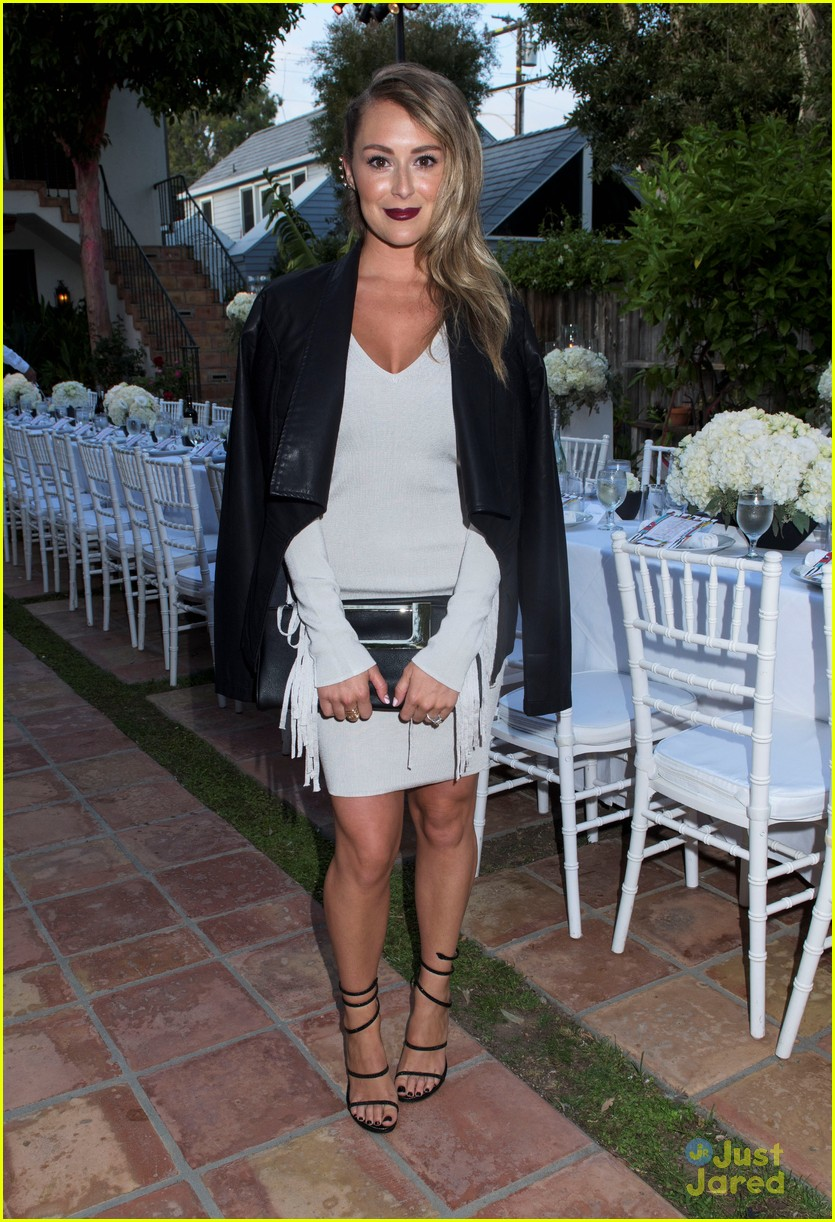 nikki reed alexa vega just jared justfab malibu dinner 01