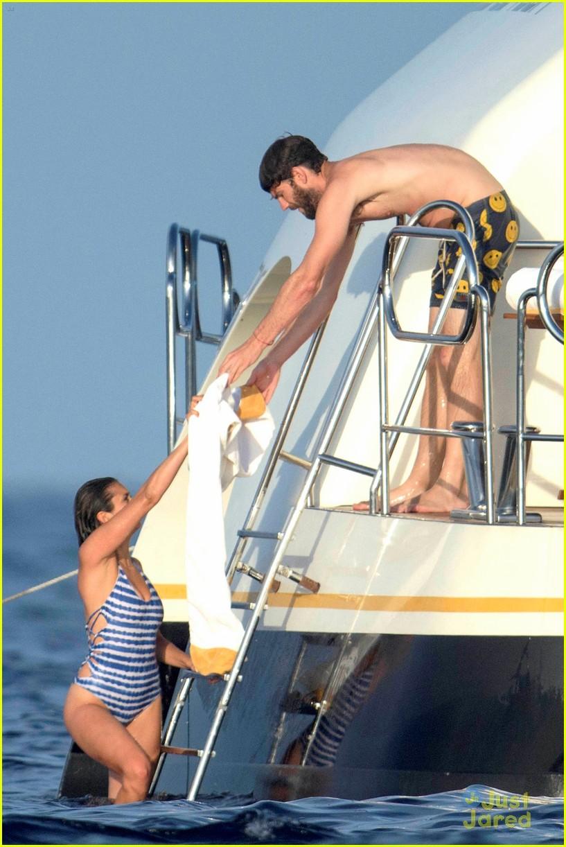 nina dobrev wears a monokini alongside shirtless boyfriend austin stowell 05