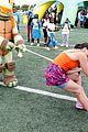 paola andino nick merico tug war day play 17