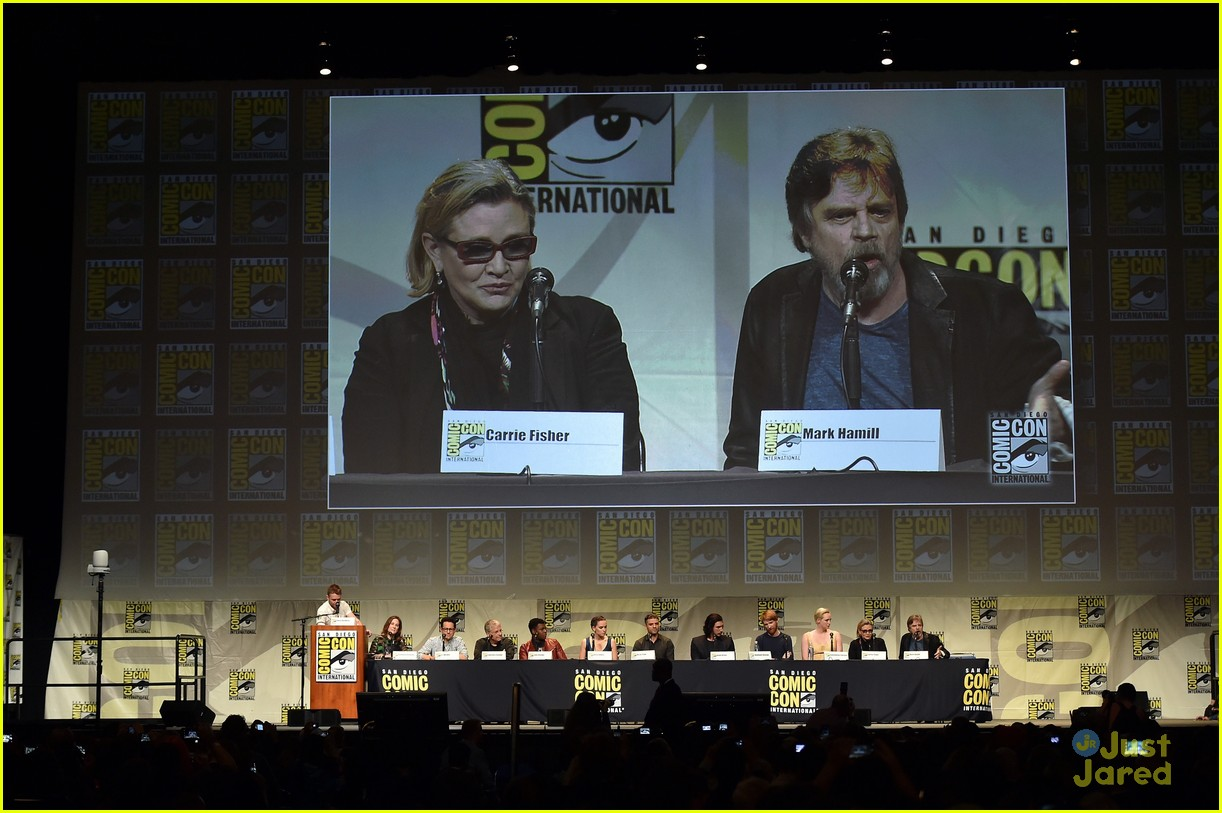 star wars comic con panel cast photos 22