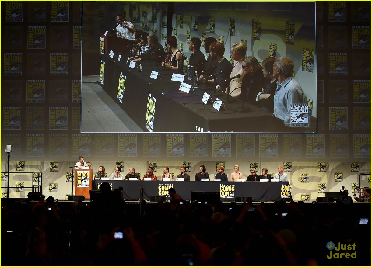 star wars comic con panel cast photos 23