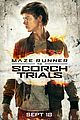 new scorch trials posters before trailer premiere 02