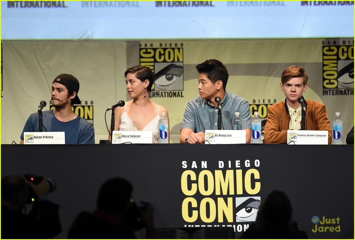 dylan obrien scorch trials panel ew party 19