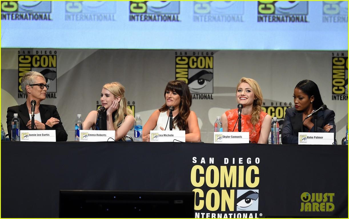 scream queens comic con 2015 panel 02