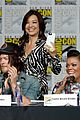 agents shield cast signing sdcc ew party chloe bennet luke mitchell 22