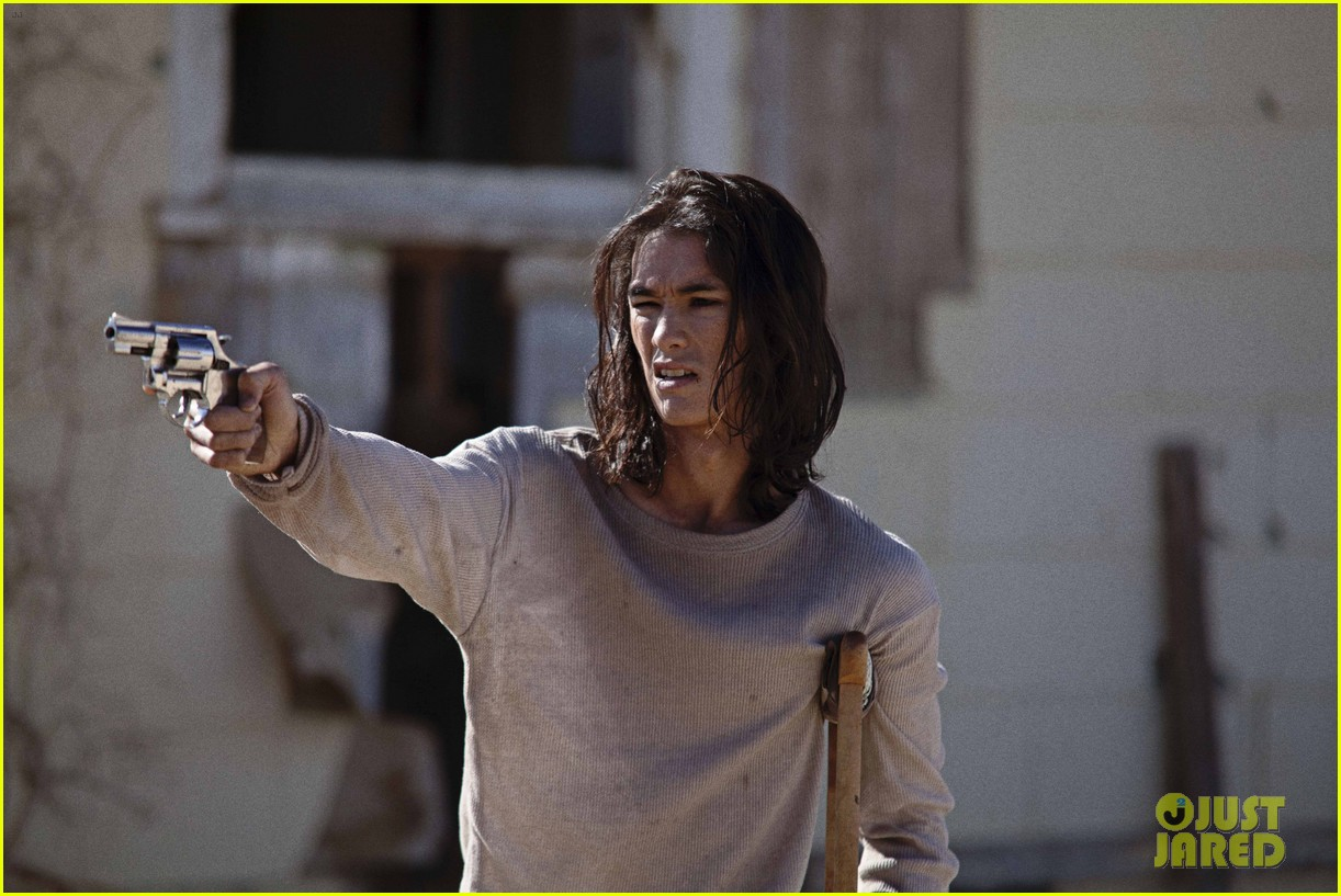 Booboo Stewart is Wounded & Confronted in This 'Last Survivors' Clip