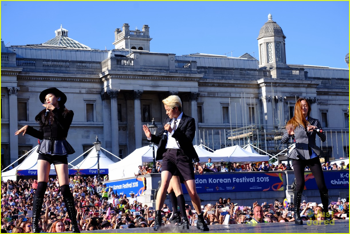 fx kpop perform london south korean festival 13