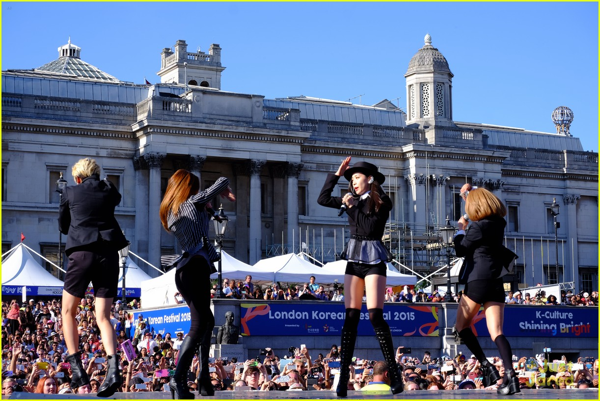 fx kpop perform london south korean festival 20