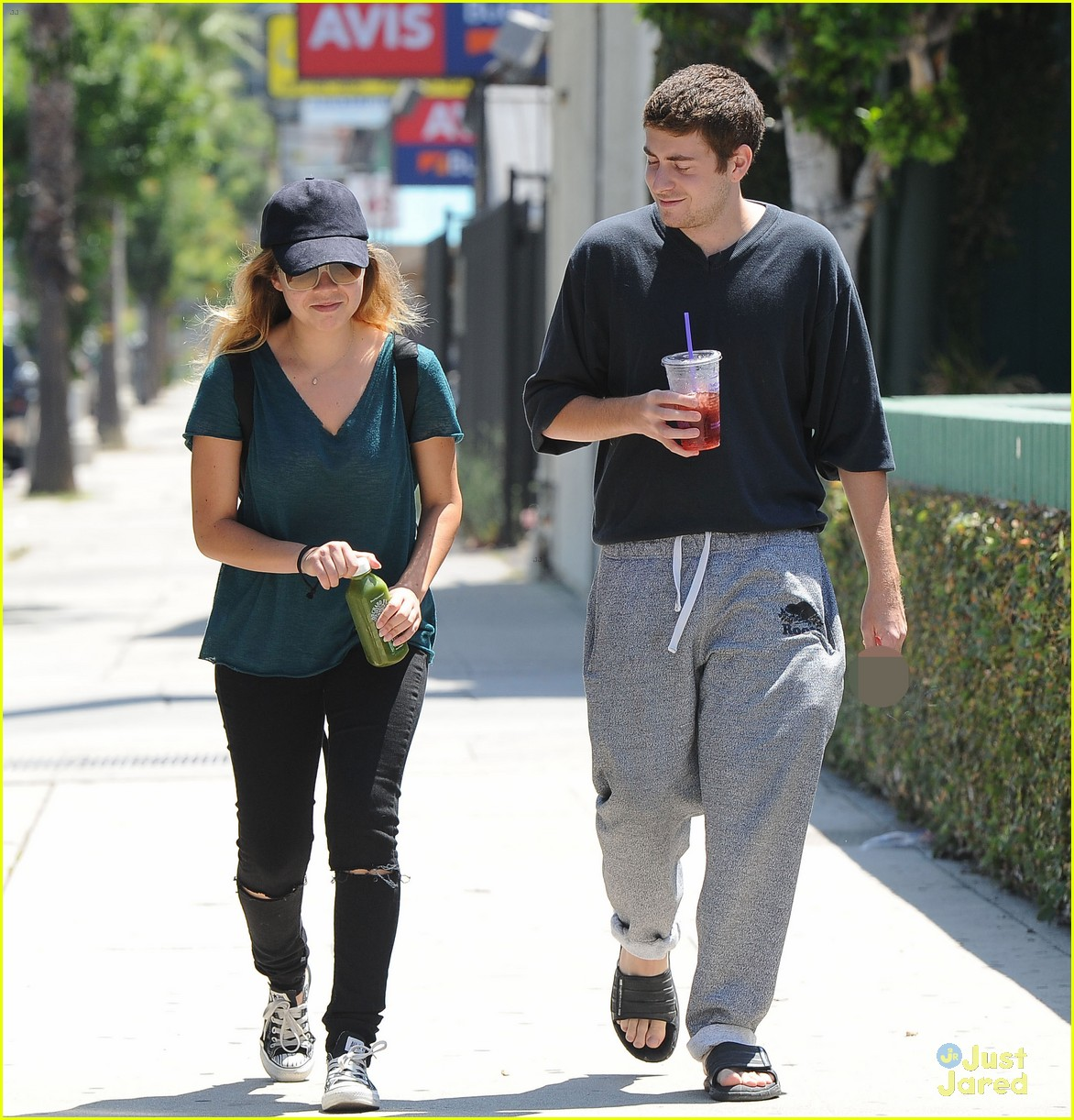 jennette mccurdy jesse carere hang out 01