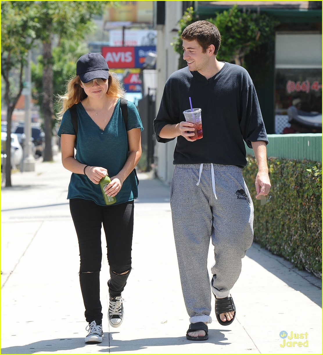 jennette mccurdy jesse carere hang out 02