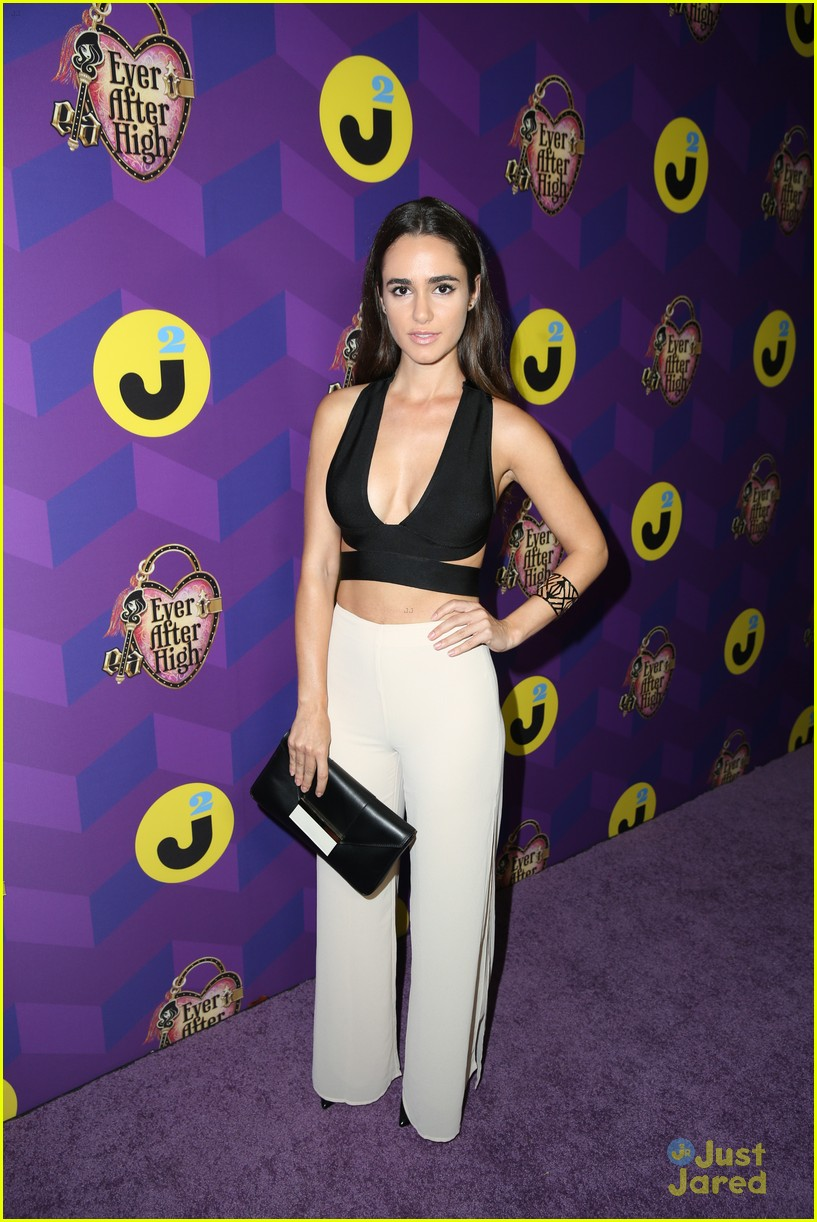 italia ricci katie stevens just jared wonderland party 30