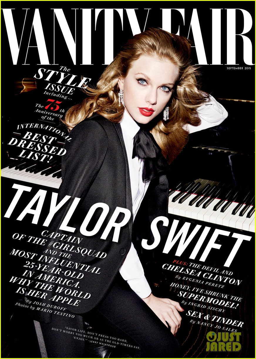 Taylor Swift Talks About Her Big Group Of Bffs In Vanity Fair Photo 846570 Magazine Taylor Swift Pictures Just Jared Jr