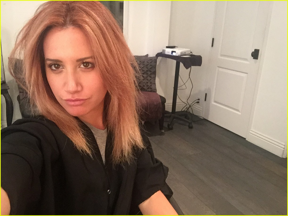 Ashley Tisdale Blogs About Hair Color Change On The Haute Mess