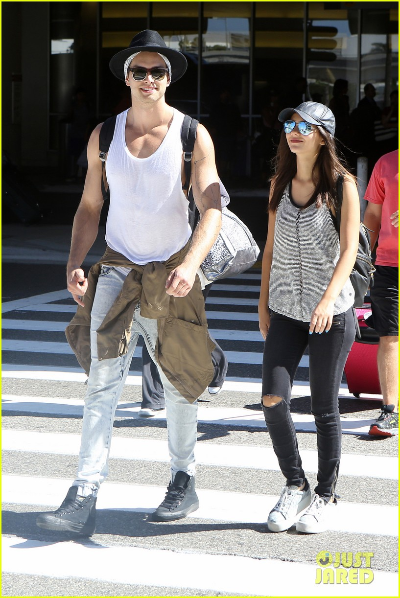 victoria justice pierson fode lax arrival from hawaii 07