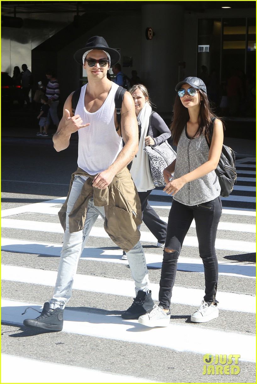 victoria justice pierson fode lax arrival from hawaii 27