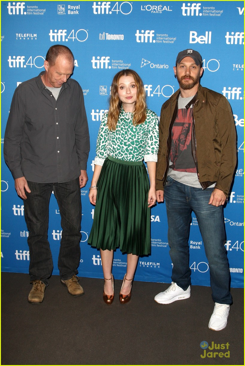 tom hardy emily browning legend tiff 2015 23