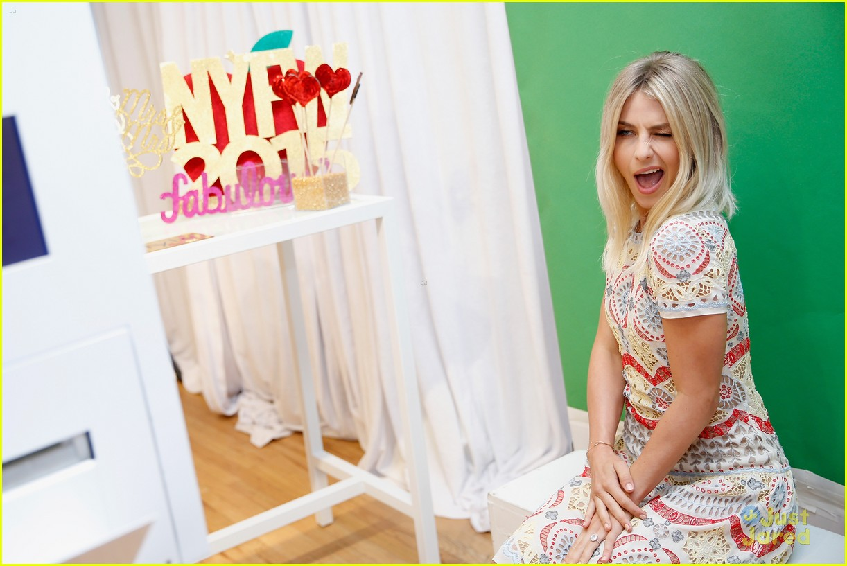 julianne hough hallmark signature card event nyc 02