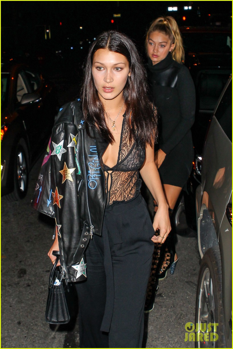 kim kardashian private party with gigi bella hadid 07