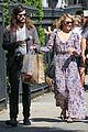 lea michele dianna agron heather morris separate saturday outings 03
