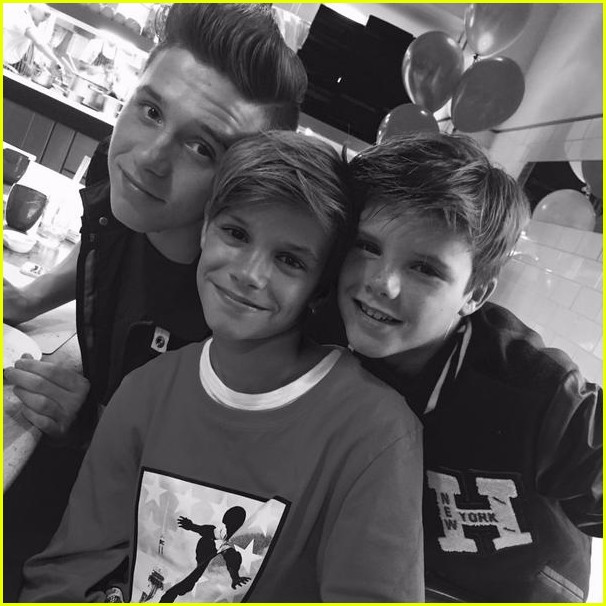 david victoria beckham wish son romeo a happy birthday 03