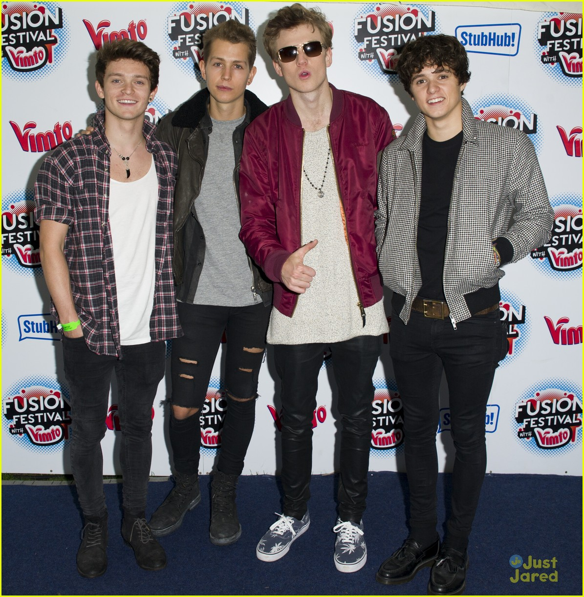the vamps union j fusion festival hamblett project 12