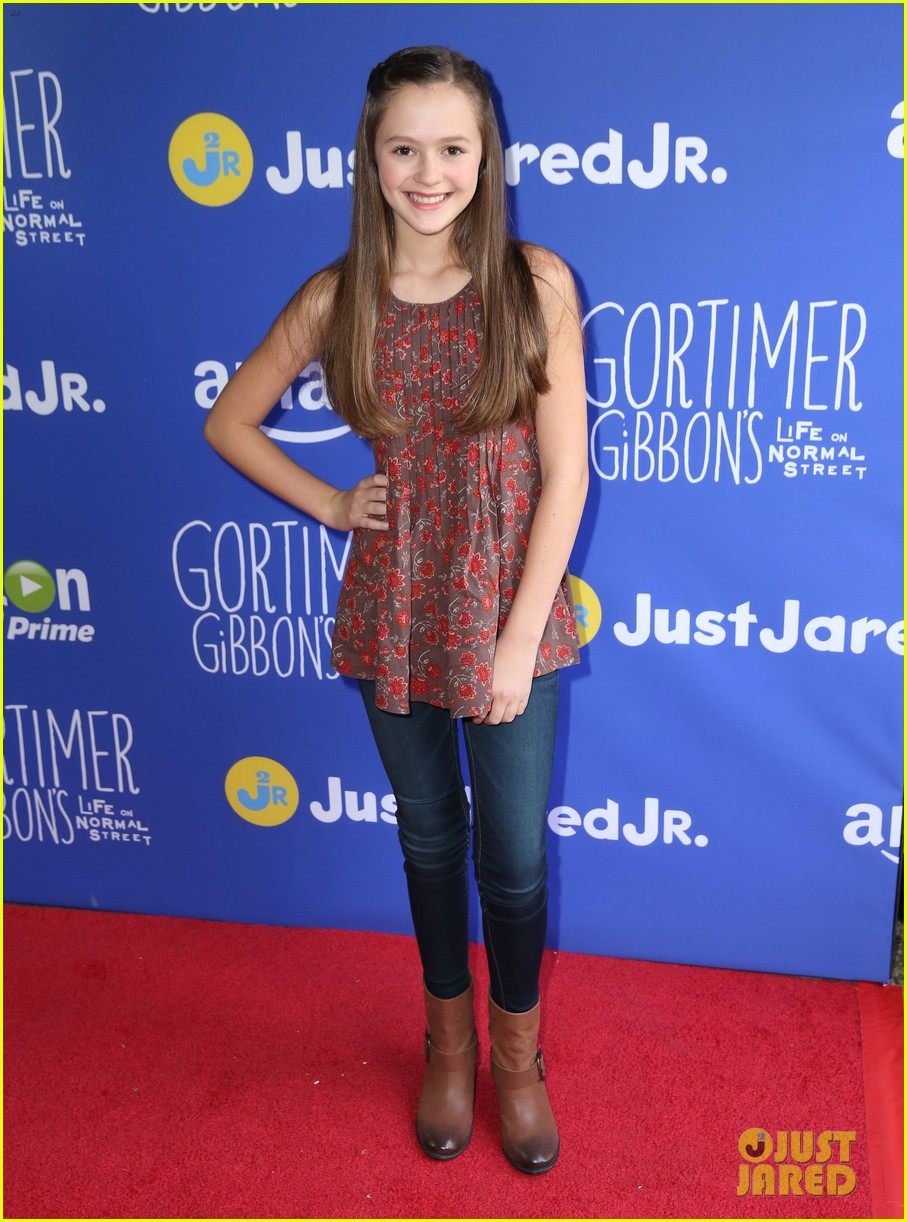 gortimer gibbons cast just jared jr fall fun day 34