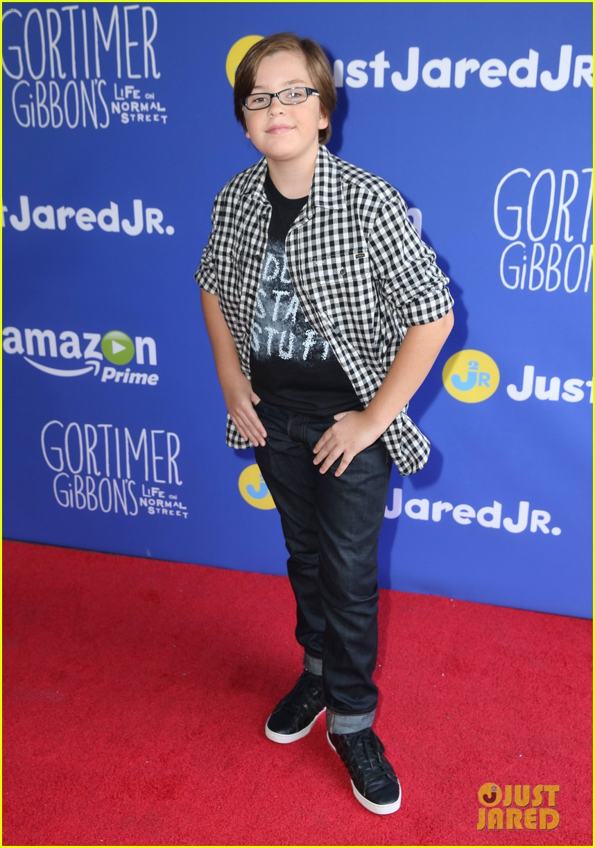 gortimer gibbons cast just jared jr fall fun day 36