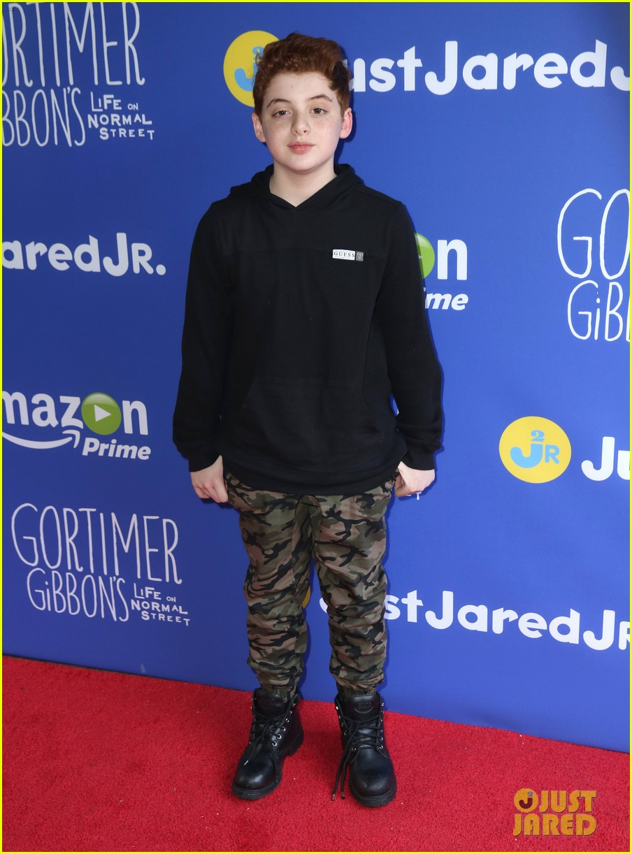 gortimer gibbons cast just jared jr fall fun day 42