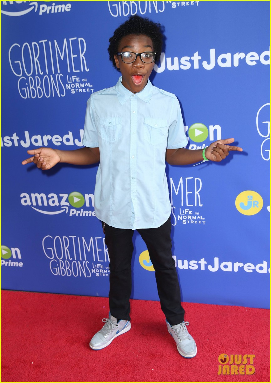 gortimer gibbons cast just jared jr fall fun day 45