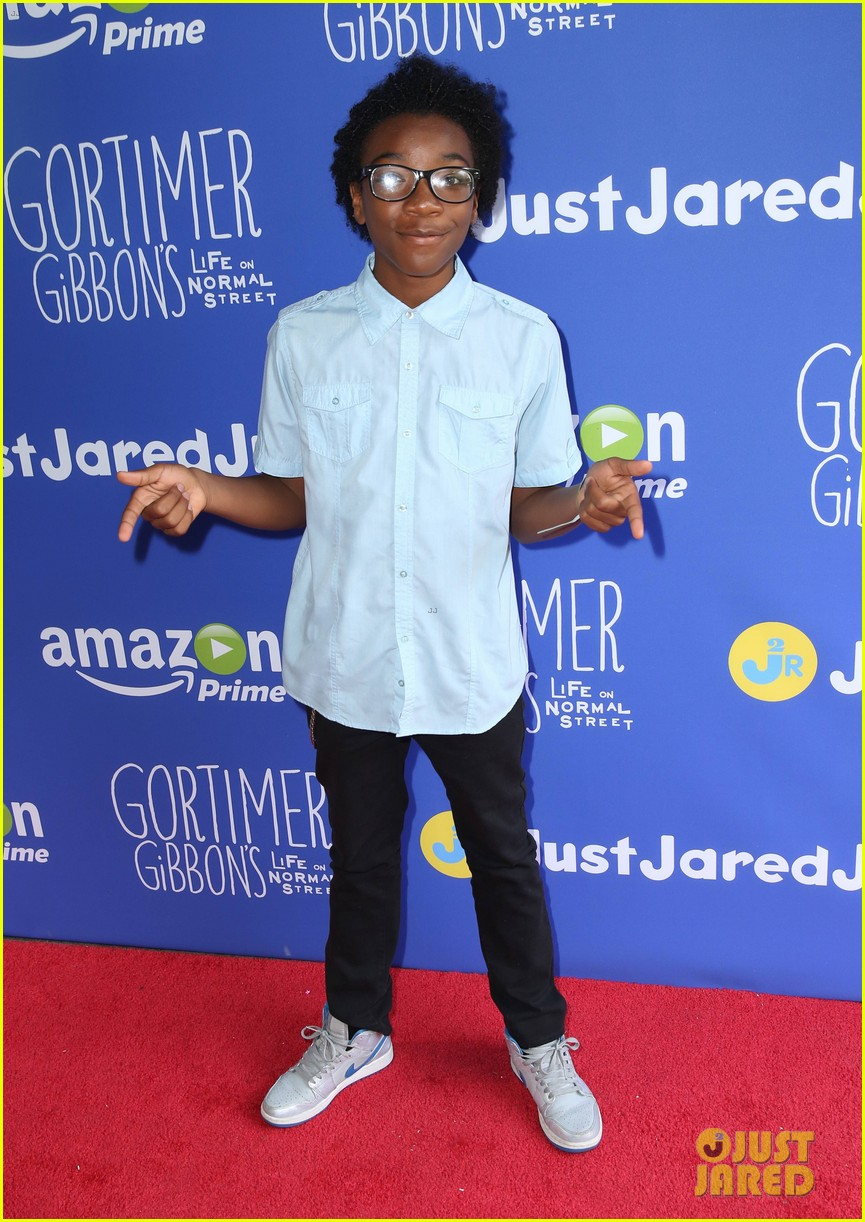 gortimer gibbons cast just jared jr fall fun day 46
