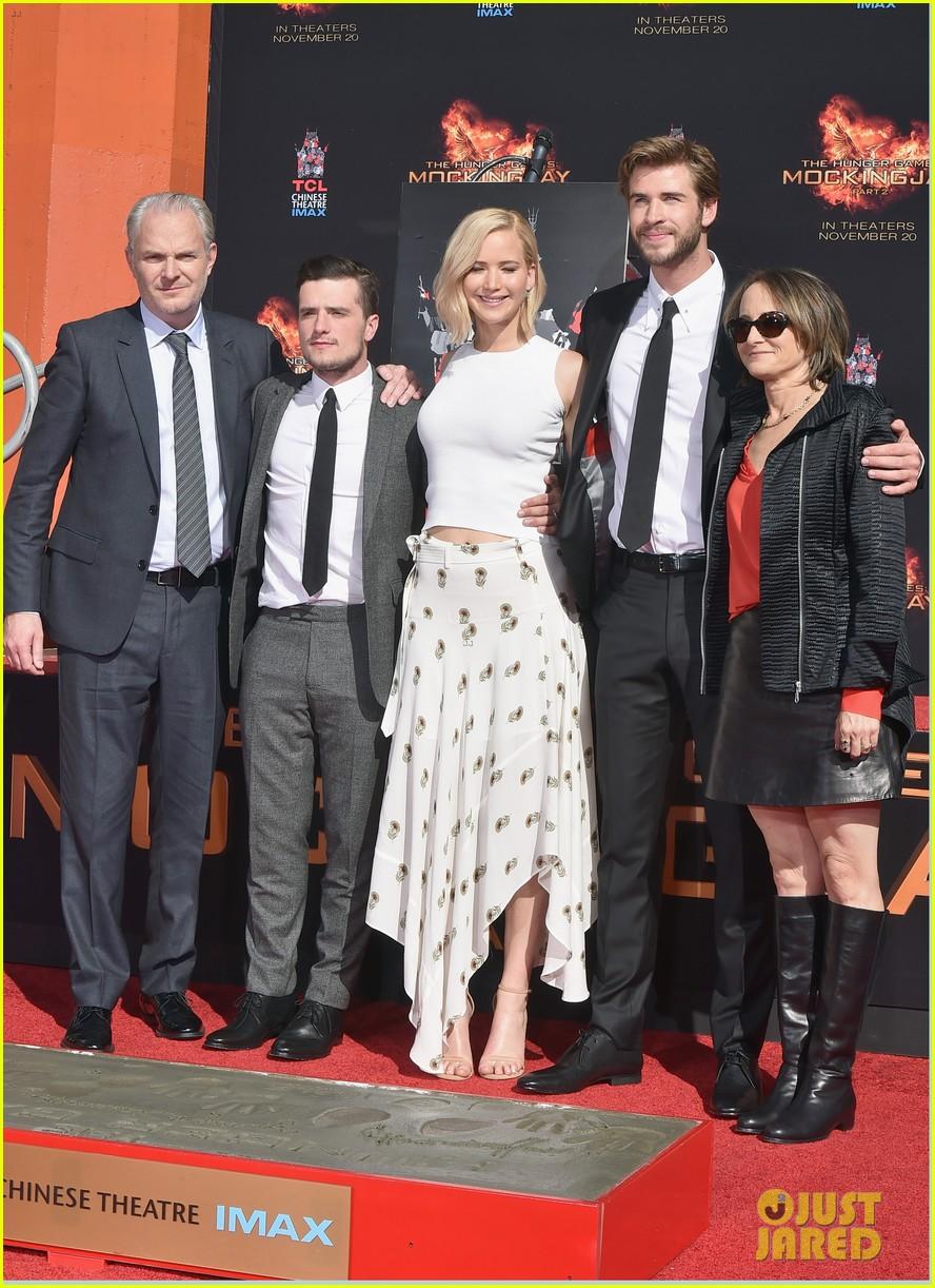 Jennifer Lawrence Josh Hutcherson Put Their Mark On Hollywood For