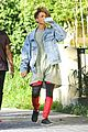 jaden smith chuggs water from box 13