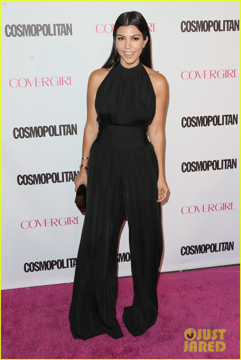 kardashian jenner sisters cosmo party 01