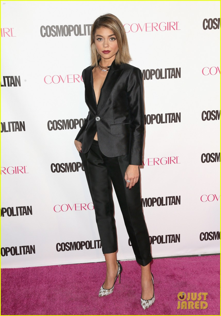 sarah hyland zoey deutch cosmo 50th birthday 14